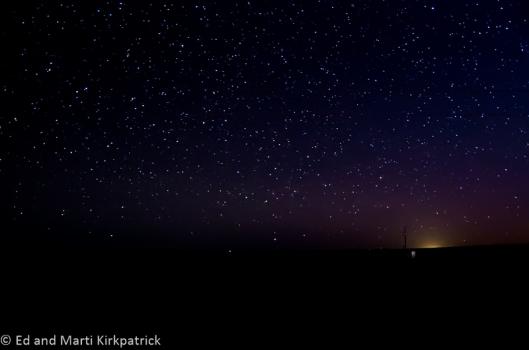 Stars east of Marfa Texas.