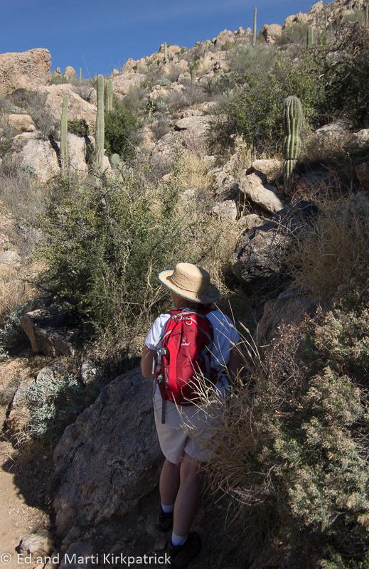 Marti Hiking Romero Pools