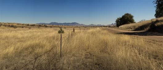 Box Canyon Road Panorama