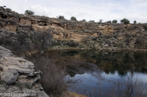 Cliff house ruins at Montezuma Well