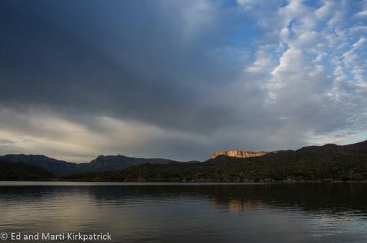Apache Lake Cliff Sunrise