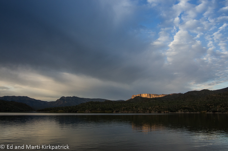 Apache Lake Cliff Sunrise