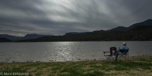 Ed at Apache Lake