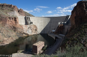Roosevelt Dam on the Salt River