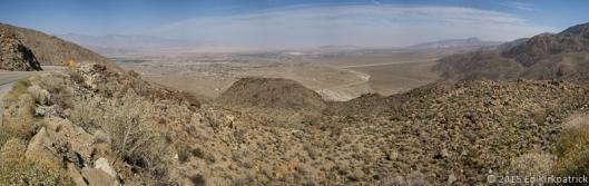 3000 feet below is Borrego Springs