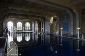 Indoor pool detail - Hearst Castle