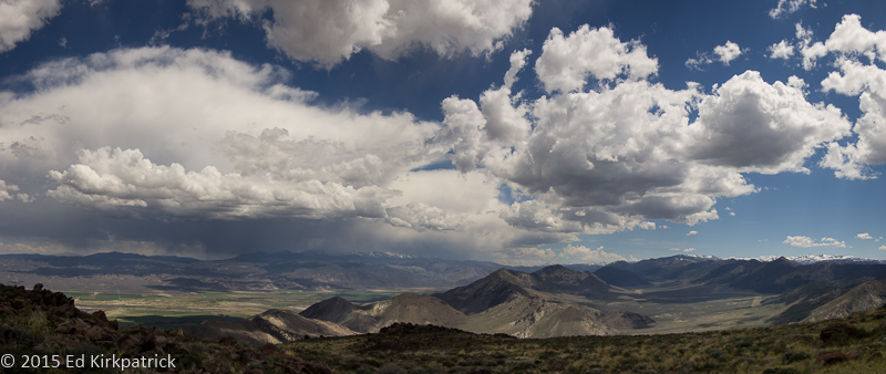 Looking southeast to Antelope Valley from Carson Pass.