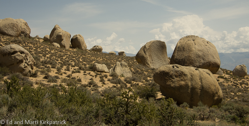Ginormous Rocks at the Buttermilks