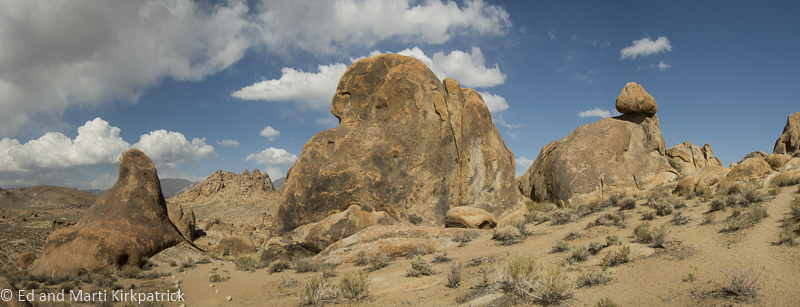 Last shot of the Alabama Hills.