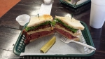 Mahogany Meats ~ Now, that's a sandwich!