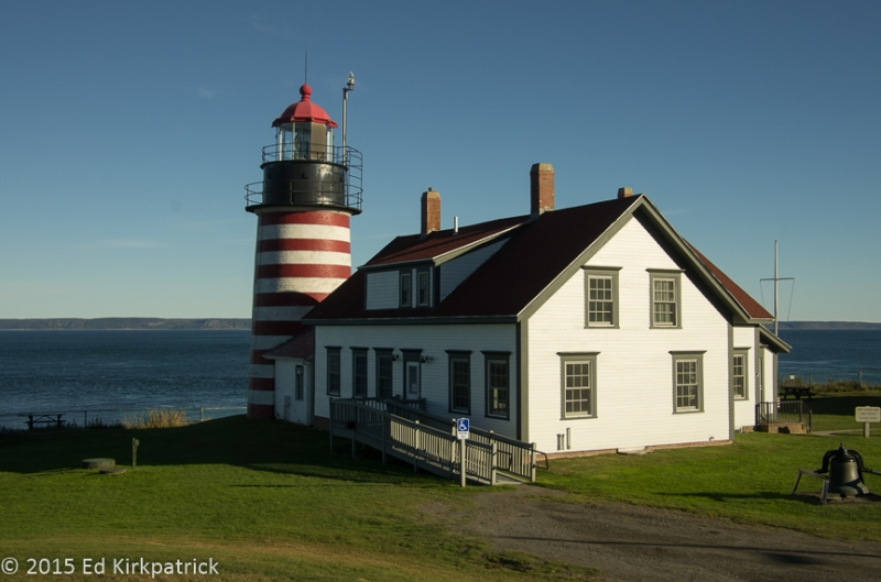 Quoddy Head Light is the closest point of the contiguous US to the African Continent.  It's true...
