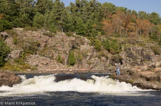 The big falls at Recollet.
