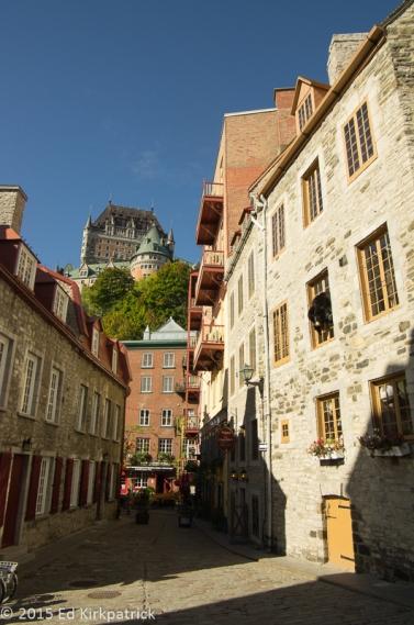 Quartier Petit Champlain in Old Quebec City